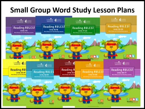 Grade 1 – Reading Rules
